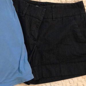 NY& Co shorts and NY & Co halter top